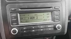 vw caddy radio problem rcd300