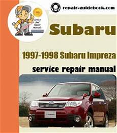manual repair autos 1994 subaru impreza electronic valve timing 1997 to 1998 subaru impreza workshop factory service repair manual online repair manuals