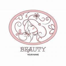 beautiful logo template for hair salon salon cosmetic stock illustration