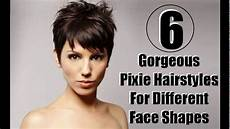 short pixie haircuts for square face youtube