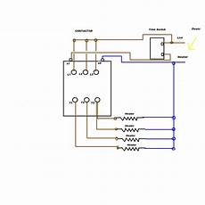 i am trying to connect a nc1 chint 240v contractor to control 4 heaters via a electronic time