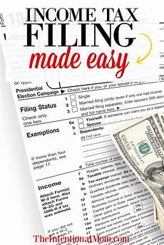 income tax filing made easy