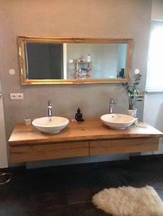 badezimmer holz waschtisch waschtisch aus eiche mit schubkasten badezimmer