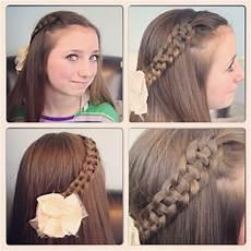 4 strand slide up braid pullback hairstyles cute hairstyles