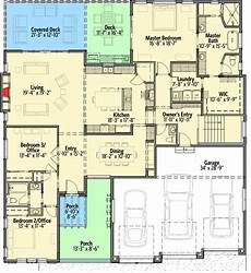 house plans for sloping lots in the rear french country house plan for your rear sloping lot in
