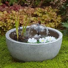 fontaine de terrasse mini bassin de terrasse gris 216 55 h30 cm n 233 nuphars h55 x