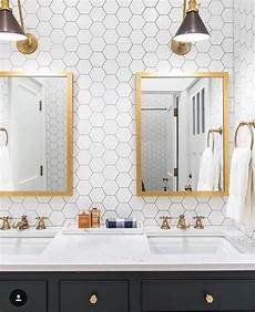 Bathroom Ideas Hexagon Tile by 29 Trendy Hexagon Tile Ideas For Bathrooms Comfydwelling