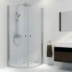 duschkabine 90x90 komplett duschkabine komplett 90 215 90 cm radius 500 mm glas 6