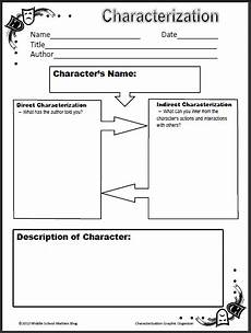print character worksheets 19313 free characterization worksheet for middle schoolers homeschool giveaways
