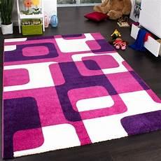 Teppich Für Kinderzimmer - teppich kinderzimmer trendiger retro kinderteppich in pink