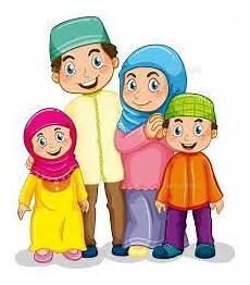 Image Result For Gambar Kartun Keluarga Muslim Dengan