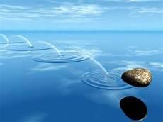 Stein Ins Wasser Werfen