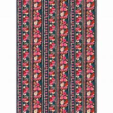 marimekko tuppurainen navy pvc coated cotton fabric 50