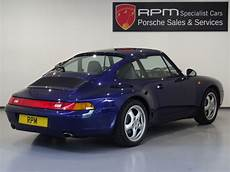 for sale porsche 993 c2 coupe manual rpm specialist cars