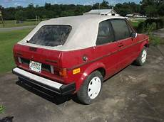 online auto repair manual 1987 volkswagen cabriolet auto manual purchase used 1987 volkswagen rabbit cabrio in slocomb alabama united states