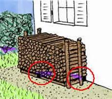 Holzstapel Am Haus - bauen und tiere benutzte bauteile