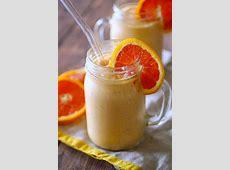 creamy vanilla orange shake image