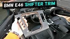 bmw e46 gear shifter trim center console trim