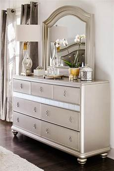 Bedroom Dresser With Mirror Decor Ideas by Glam Dresser With Mirror From Our Serena Collection