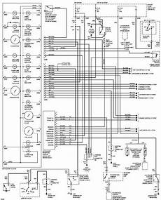 Ford Contour 1997 Instrument Cluster Wiring Diagram All