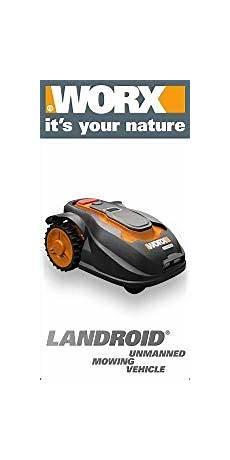 Worx Landroid M1000i - worx landroid m1000i rasen m 228 hroboter bis 1000 qm mit wi