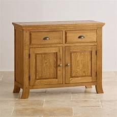taunton small sideboard in rustic solid oak oak