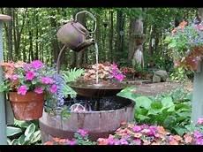 deko ideen selber machen garten springbrunnen selber bauen springbrunnen selber machen im garten