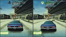 burnout paradise ps4 burnout paradise remastered playstation 4 pro vs xbox
