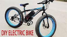diy electric bike 40km h using 350w reducer brushless