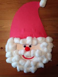 paper plate santa claus craft craft