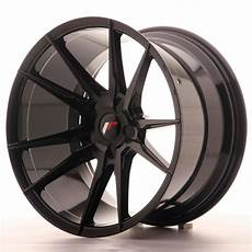 japan racing wheels jr 21 glossy black 19x11 zo japan