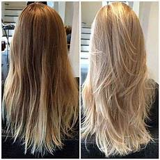 Lange Haare Stufenschnitt Hinten Frisuren In 2019