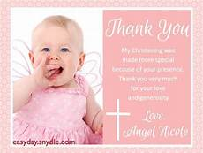 thank you card bautism template word baptism thank you cards wording baptism thank you cards