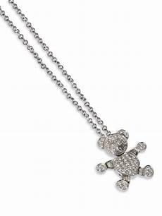 collana pomellato collana pomellato con pendente in oro bianco e diamanti