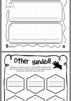time worksheets 3023 idea by aj noah on kindergarten literacy science left handed writing science literacy