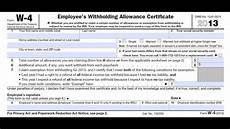 how to fill out irs w4 form correctly and maximize it for your benefit youtube