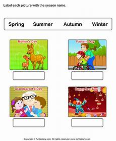 worksheets on seasons for grade 2 14834 write name of seasons worksheet turtle diary