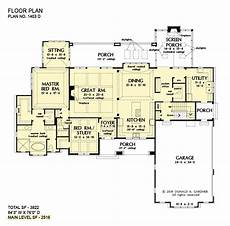 walkout basement ranch house plans luxury ranch home plans with basements in 2020 luxury