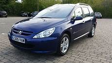 2005 peugeot 307 sw 2 0 hdi se 5dr black leather seats panoramic roof 12 months mot