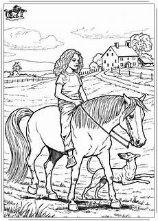 Malvorlagen Pferde Zum Ausdrucken Ausmalbilder Pferde Mit Reiter Ausmalbilder