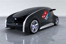 Pizza Delivery Vehicle By Domino's  Futuristic Cars