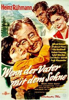 Poster Zum Wenn Der Vater Mit Dem Sohne 1955