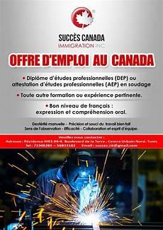 offres d emploi au canada 1000