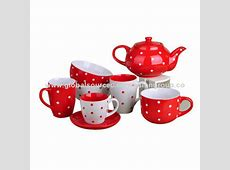 Stoneware Dinnerware Set, Good quality, Red Color with