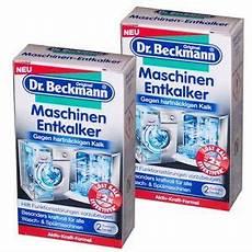 entkalker für waschmaschinen 4 88 100g dr beckmann entkalker f 252 r waschmaschine