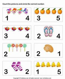 number matching worksheet 6 preschool math pinterest count numbers and pictures