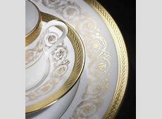 Gold Trim Dinnerware & View Larger