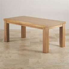 tisch massiv eiche wood dining tables contemporary chunky 6ft solid oak