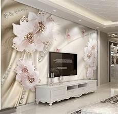 custom 3d wallpaper luxury flowers 3d photo wallpaper