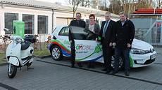 Stadtwerke Verden Stellen Erstes Eigenes Elektroauto Vor